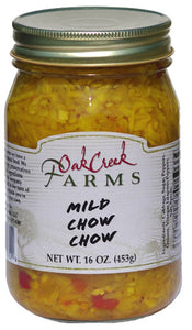 Oak Creek Farms Mild Chow Chow