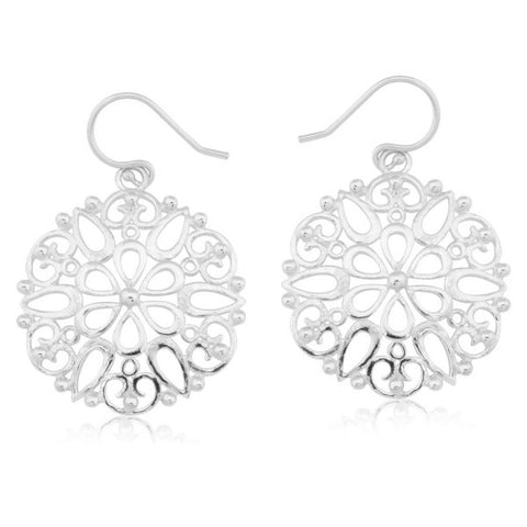 Southern Gates Round Garden Gate Earring