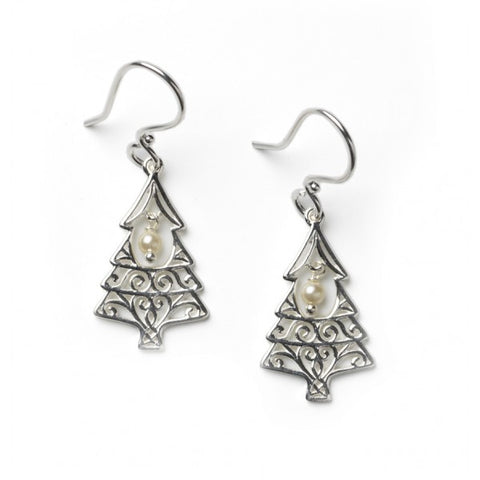 Southern Gates Christmas Tree Pearl Earring