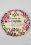 Giving Plate Floral