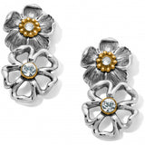 Lux Garden Post Drop Earrings