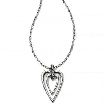 Meridian Swing Petite Heart Necklace