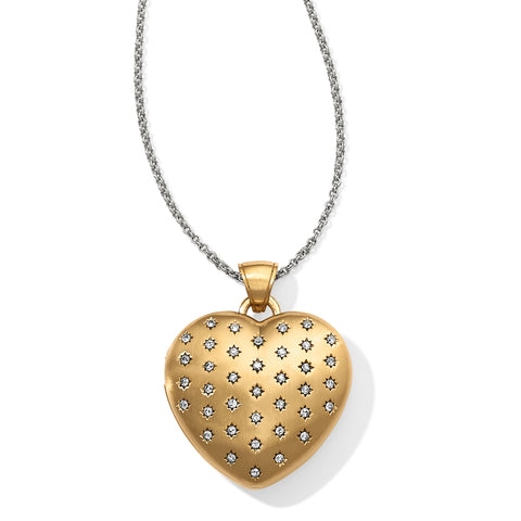 Sweetheart Convertible Locket Necklace