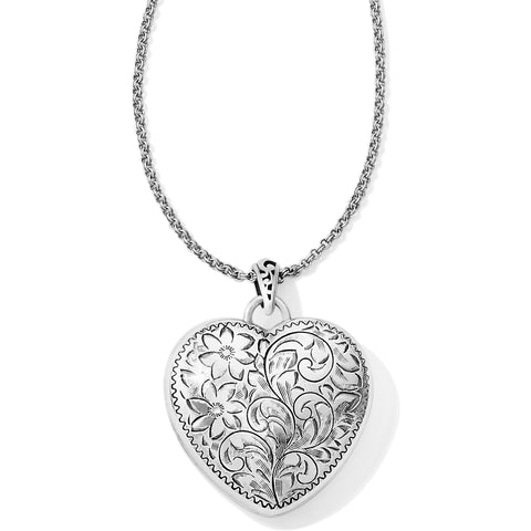 Timeless Heart Convertible Locket Necklace