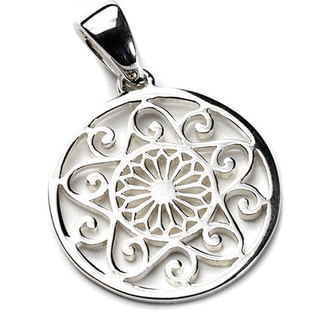 Southern Gates Medium Cathedral Scroll Pendant