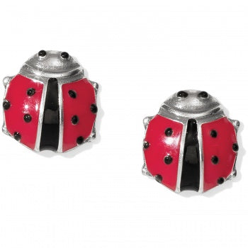 Spring Ladybug Mini Post Earrings