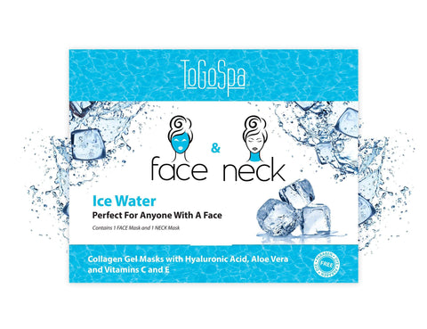 Ice Water Face & Neck Mask