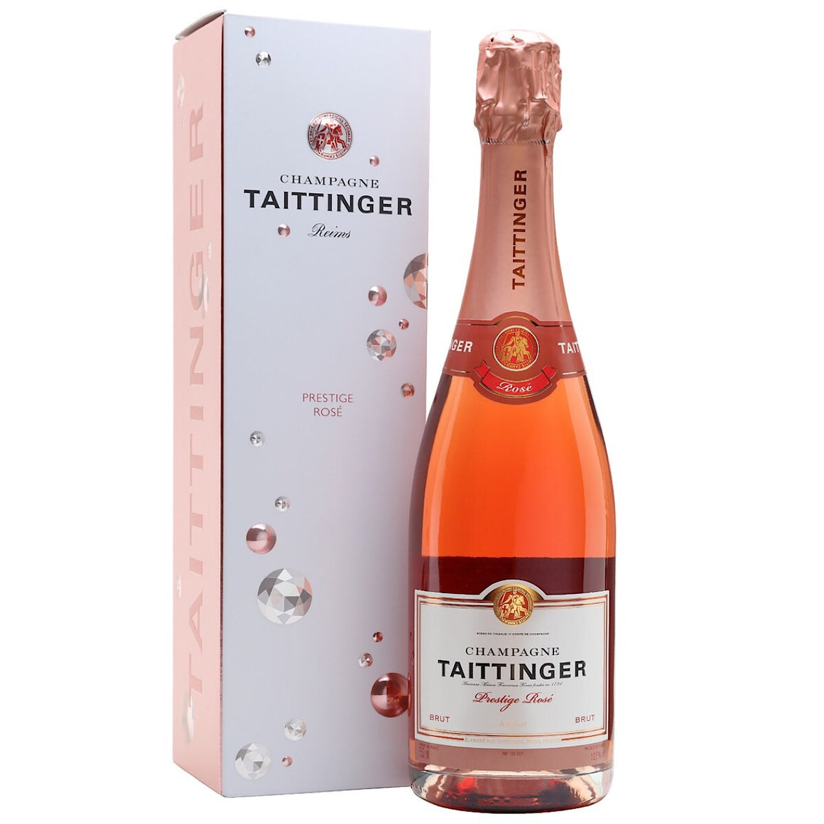 Taittinger Rose NV Champagne in Gift Box