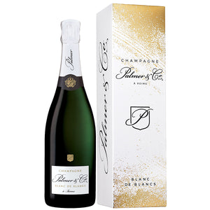 Palmer and Co Blanc de Blanc Champagne 75cl
