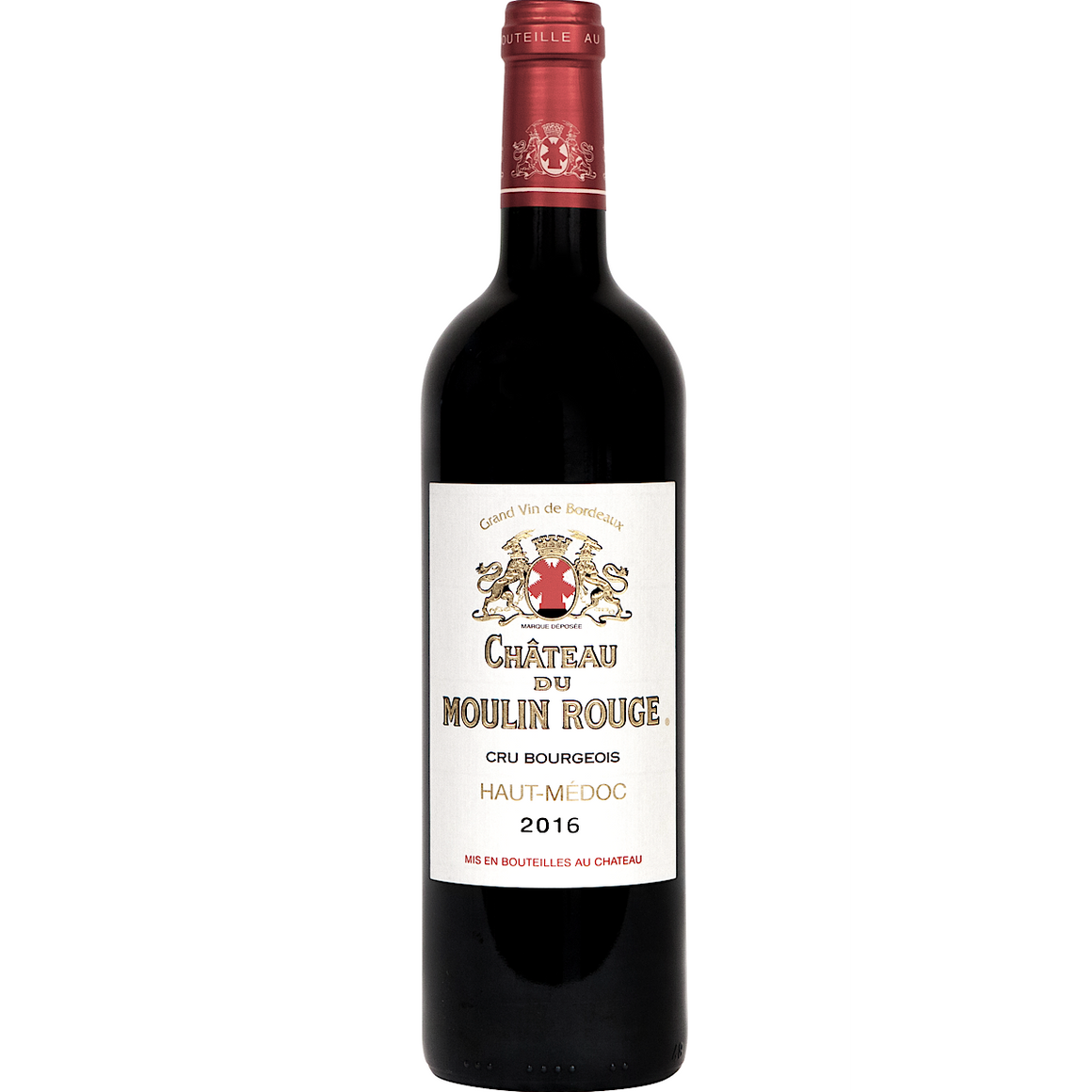 Chateau Du Moulin Rouge Cru Bougeois Superieur  6 Bottle Case 75cl