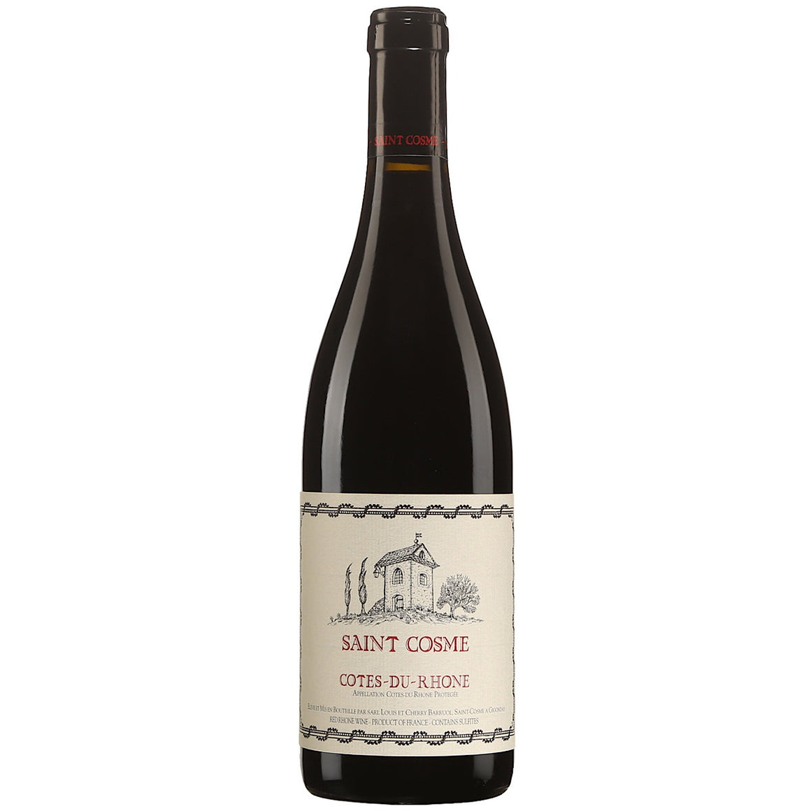 St Cosme Cotes du Rhone Rouge 6 Bottle Case 75cl