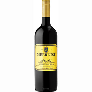 Meerlust Merlot 6 Bottle Case 75cl