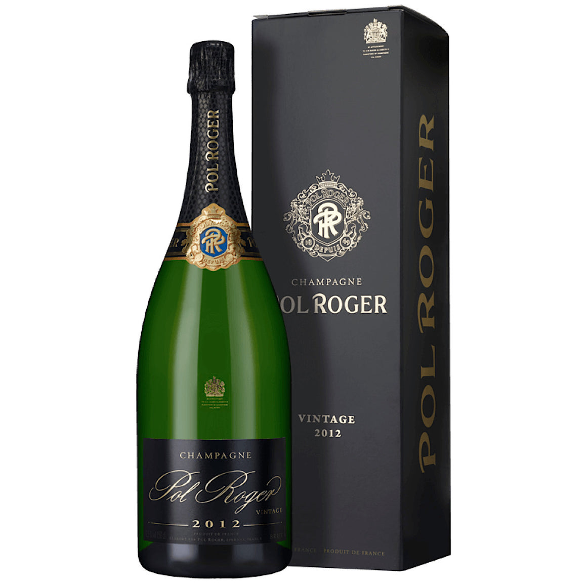 Pol Roger Brut Vintage 2012 6 Bottle Case 75cl