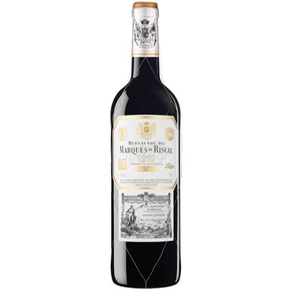 Marques de Riscal Reserva Rioja 2014 75cl UK Duty Paid