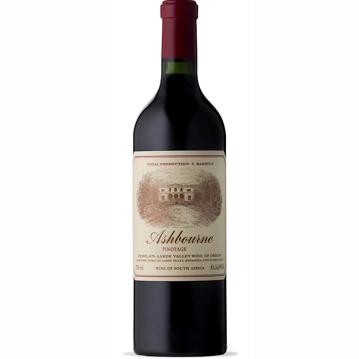 Ashbourne Pinotage 2016/2017 6 Bottle Case 75cl