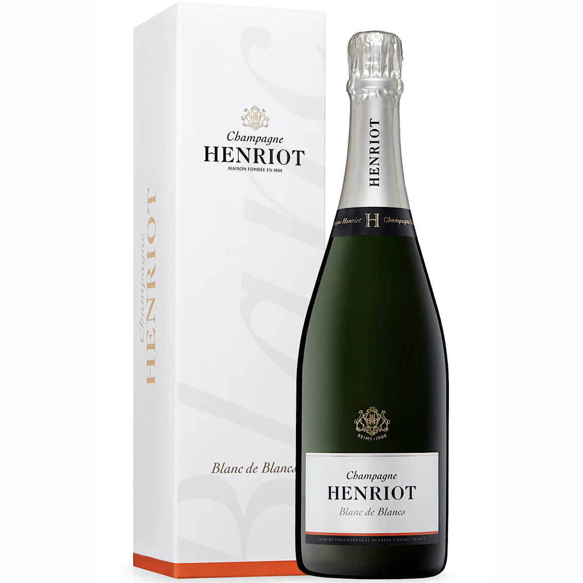Henriot Champagne Blanc de Blanc 6 Bottle Case 75cl