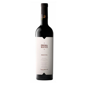 A Mano `Prima Mano` Primitivo 6 Bottle Case 75cl