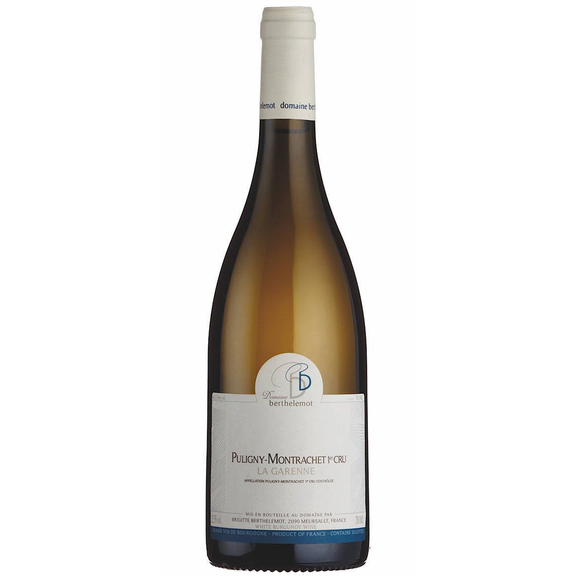 Domaine Berthelemot Puligny-Montrachet La Garenne 6 Bottle Case 2017