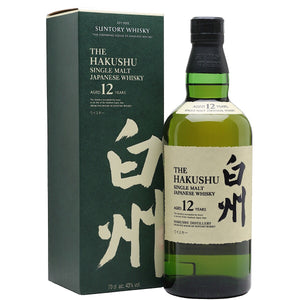 Hakushu 12 Year Old Whisky 75cl