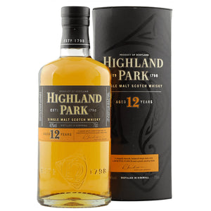 Highland Park 12 Year Old 70cl [Old Bottle Edition]