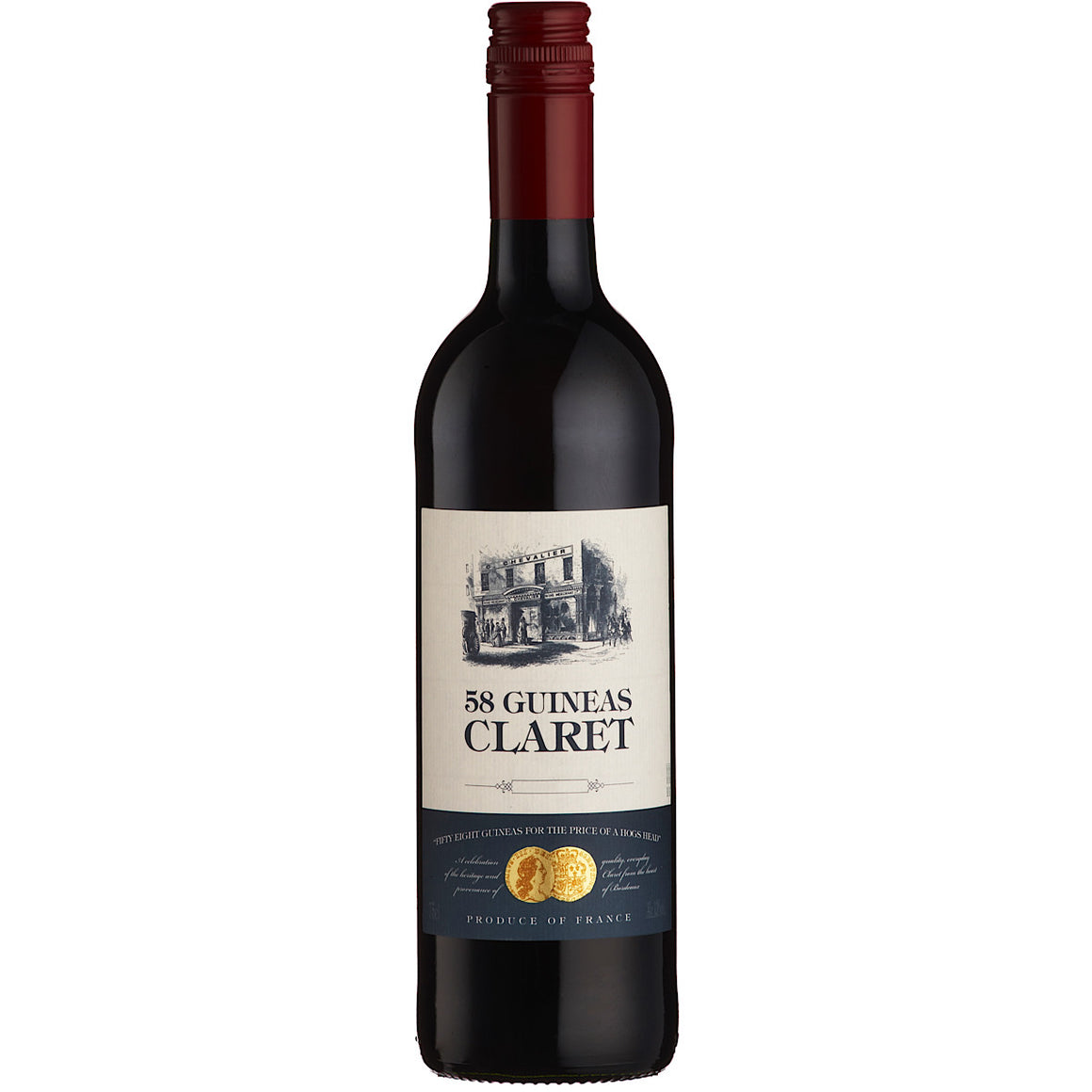 '58 Guineas' Claret, Bordeaux  12 Bottle Case 2018