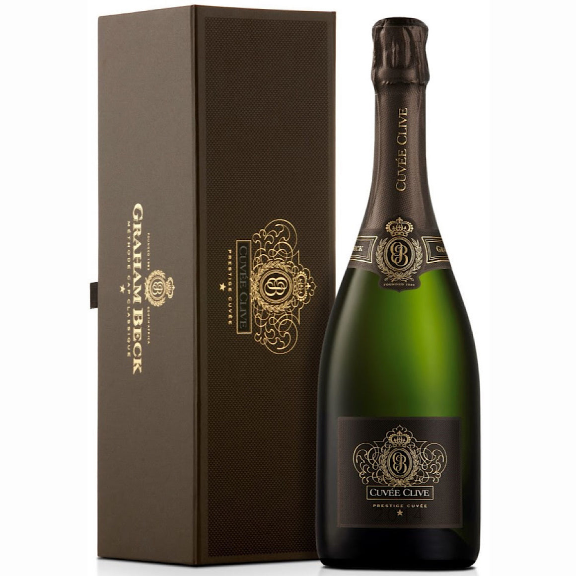 2014 Graham Beck Cuvée Clive 3 Bottle Case 75cl