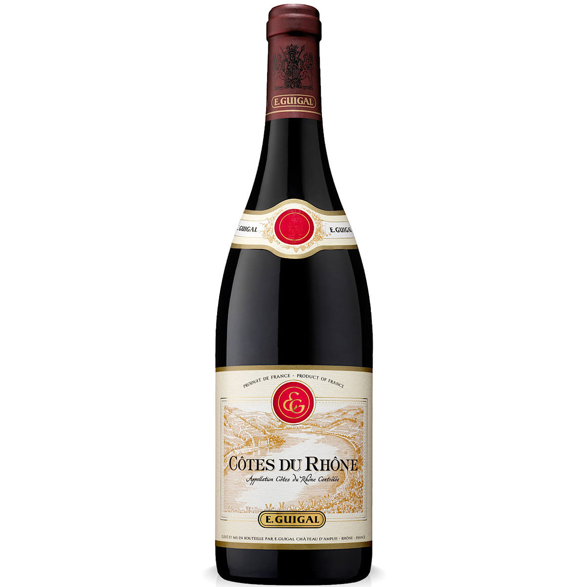 Guigal, Côtes du Rhône Rouge 6 bottle case 75cl