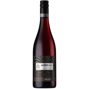 Moko Black  Pinot Noir, Waipara 6 Bottle Case 75cl