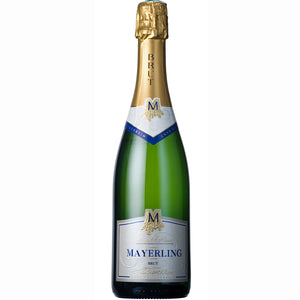 Cave de Turckheim Mayerling Brut, Crémant d'Alsace NV 6 Bottle Case 75cl