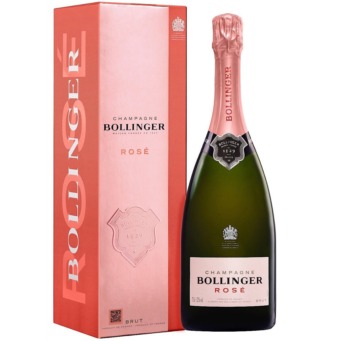 Bollinger Rose NV Champagne GIft Box 75cl