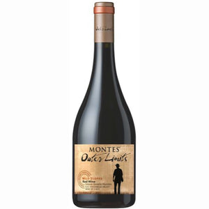 Outer Limits by Montes `Wild Slopes` Apalta Vineyard Carignan/Grenache/Mourvèdre 6 Bottle Case 75cl