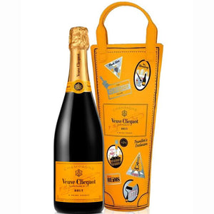 Veuve Clicquot Champagne Limited Edition  Travel bag 75cl