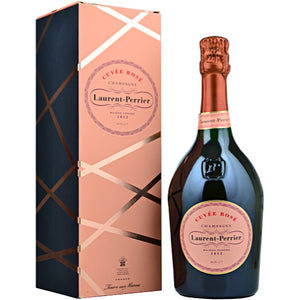Laurent-Perrier Cuvee Rose Non Vintage Champagne in Gift Box 75cl