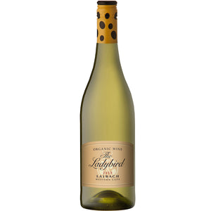 `The Ladybird` Organic Chardonnay Chenin Laibach 6 Bottle Case 75cl
