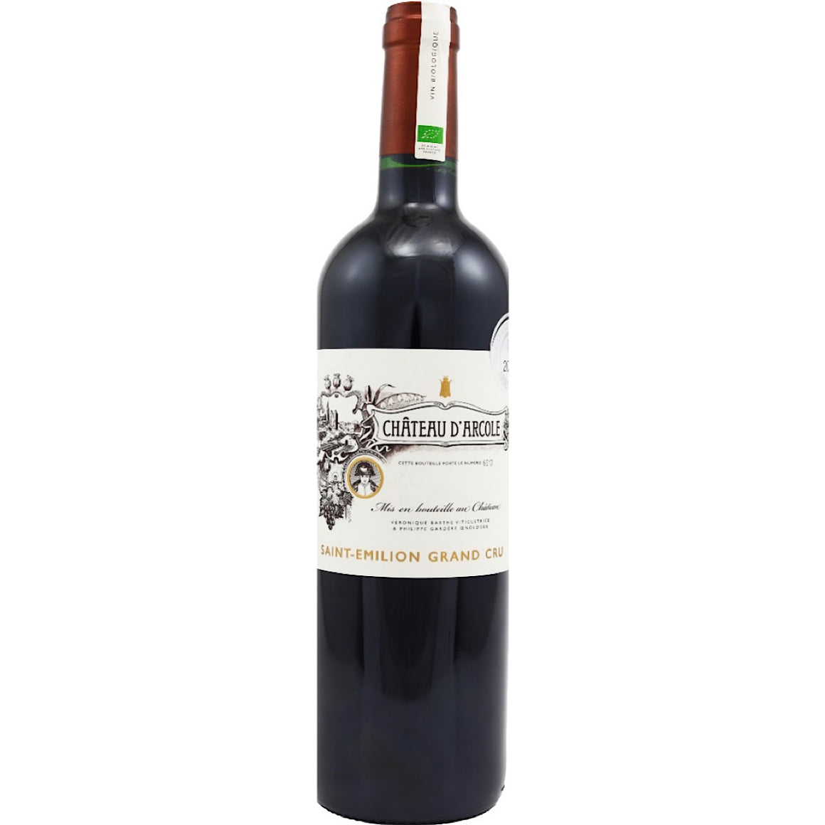 Château d'Arcole Saint-Émilion Grand Cru, 6 Bottle Case 75 cl