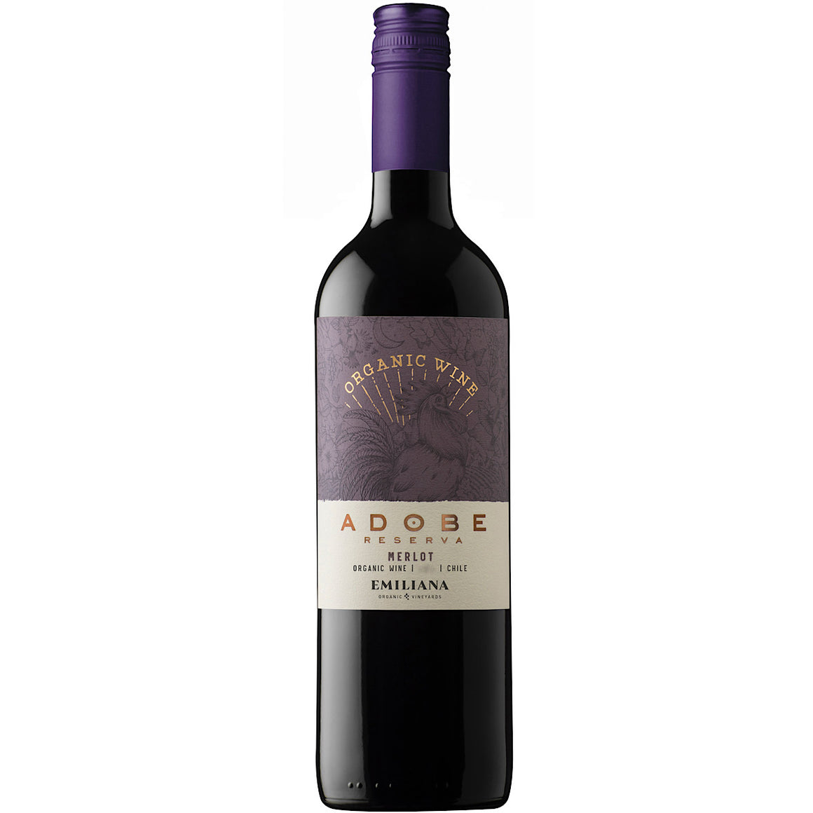 Adobe Reserva Merlot 12 Bottle Case 75cl