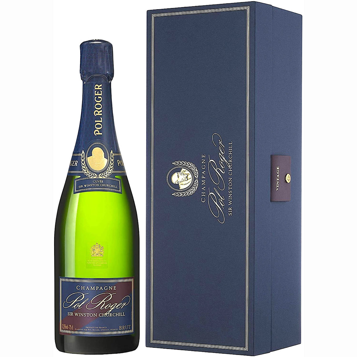 2009 Pol Roger Cuvée Sir Winston Churchill Champagne GIft Box 75cl