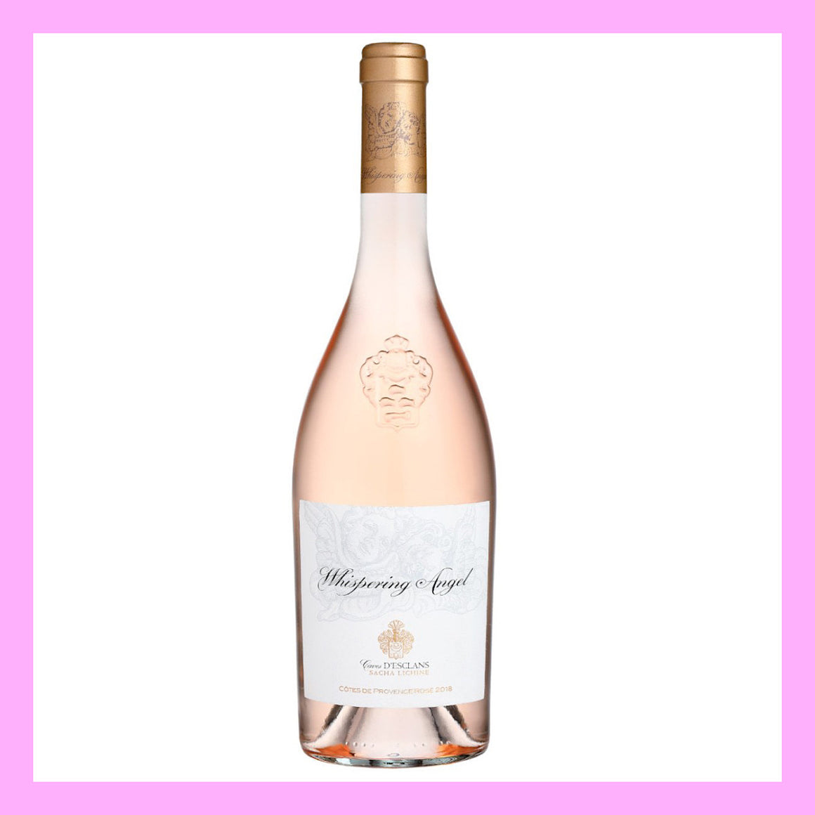 24 Bottles of Whispering Angel Rose 2020 75cl