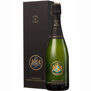 Champagne Barons de Rothschild NV Champagne Not Gift Box 75cl
