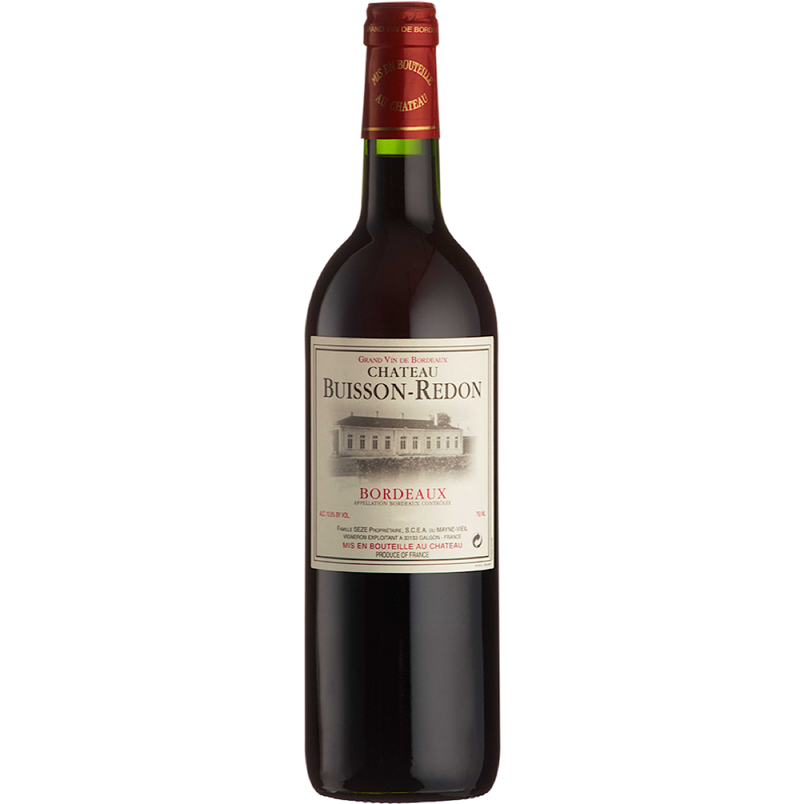 Château Buisson-Redon, Bordeaux 6 Bottle Case 75cl