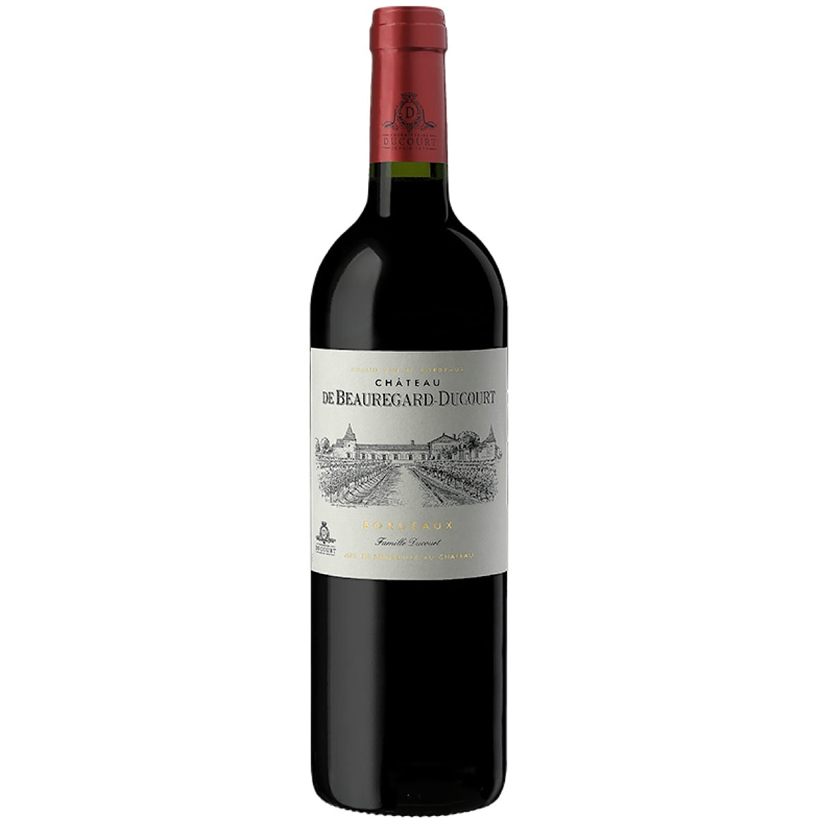 Château Beauregard-Ducourt, Bordeaux rouge, 12 Bottle Case 75cl