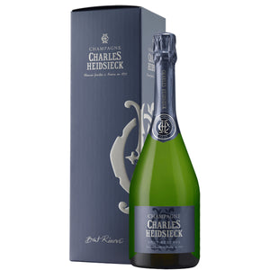Charles Heidsieck Brut Reserve Champagne  Gift Box 75cl
