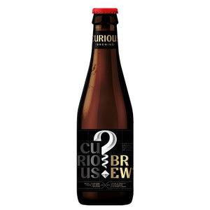 Curious Brew Lager 330ml 12 Pack