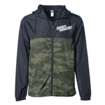 CFS Windbreaker - Camo + Black