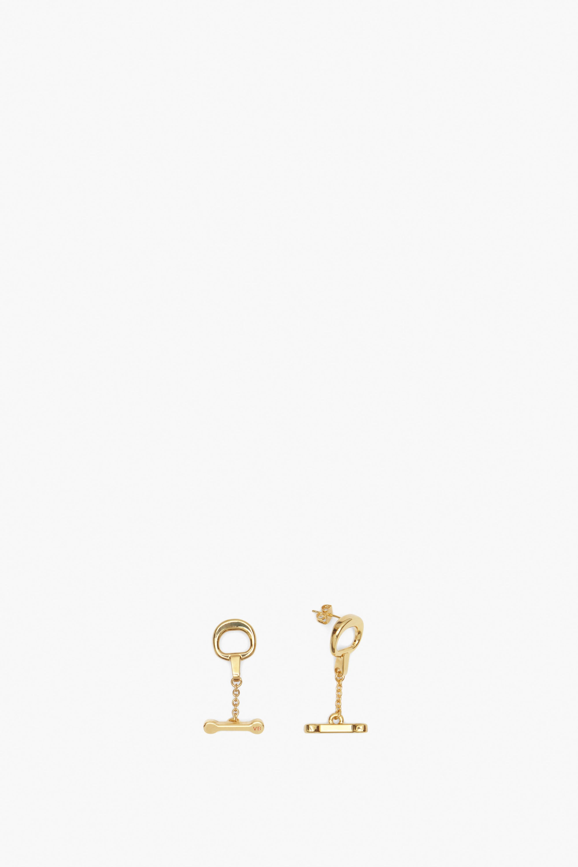 Bridle Earrings In Gold