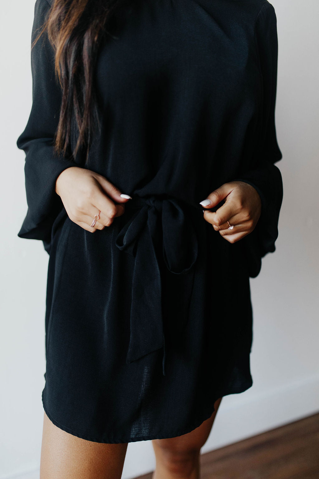 *NEW* SHOW ME YOUR MUMU LARISSA DRESS | BLACK