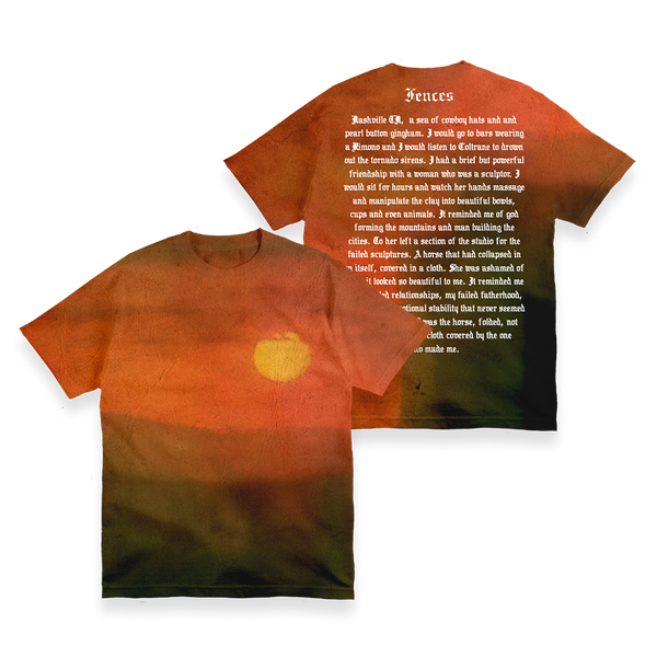 FENCES SUNSET DYE-SUB TEE