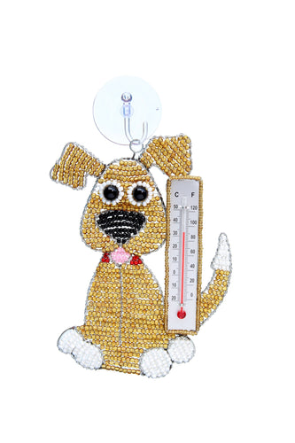 Window Thermometer Dog
