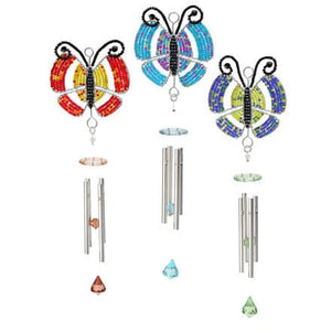 Wind Chime Butterfly, Sm Asst