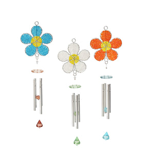 Wind Chime Daisy Small. Asst